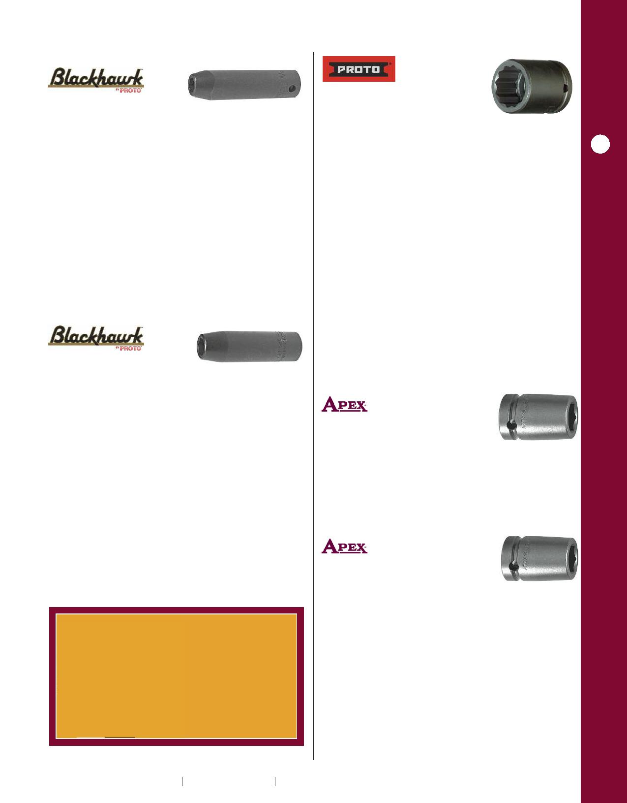 "6-point NEW 3//4/""-drive 15//16/"" DEEP IMPACT SOCKET USA BLACKHAWK # UW-2630"